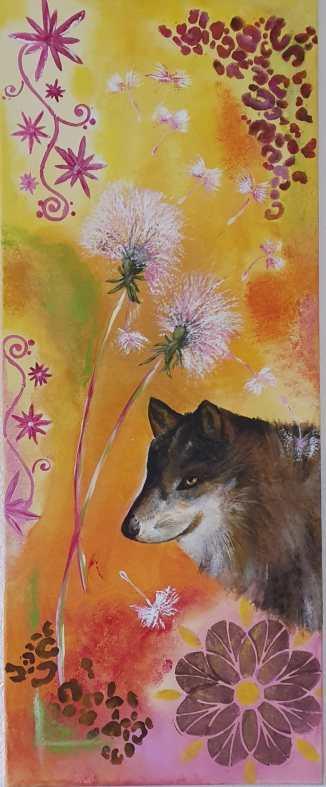 Wolf (40 x 100 cm)